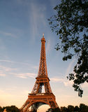 Eiffel Tower. Taken in Paris, France Stock Photography