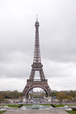 Eiffel Tower. The Eiffel Tower in Paris, France Royalty Free Stock Images