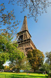 Eiffel Tower #5. View on Eiffel Tower in Paris, France Royalty Free Stock Photos