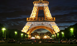 Eiffel Tower #5 (fragment) Stock Images