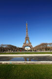 The Eiffel Tower. Symbol of Paris, stands at 1063ft tall. Built in 1889 for the Universal Exhibition Stock Photos