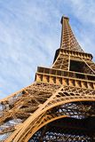 The Eiffel tower. Low-angle view of the Eiffel tower - Paris, France stock photo