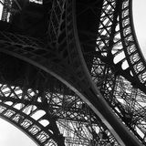 Eiffel tower. Detail of the eiffel tower in paris Stock Photography