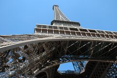 Eiffel Tower. In Paris Royalty Free Stock Photography