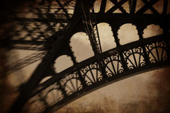 Eiffel Tower abstract Royalty Free Stock Image