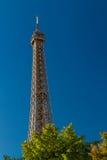 Eiffel Tower against skyline Stock Image