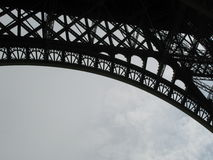 Eiffel Tower arch Stock Photo