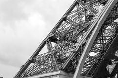 Eiffel Tower architecture detail Stock Photo