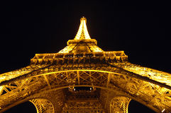 Free Eiffel Tower At Night Royalty Free Stock Image - 5938656