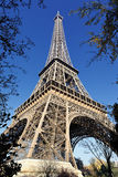 Eiffel tower in autumn Stock Photography
