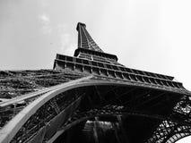 Eiffel Tower B/W Stock Photo