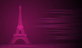 Eiffel Tower background Royalty Free Stock Images