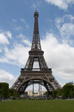 Eiffel Tower on a beautiful summer day Royalty Free Stock Photos
