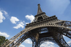 Eiffel Tower from Below Stock Photography
