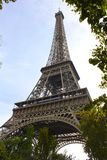 Eiffel Tower from Below, Paris Royalty Free Stock Images