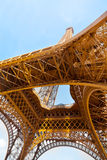 Eiffel Tower from below Stock Images