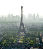 Eiffel Tower biew from Montparnasse tower Royalty Free Stock Image