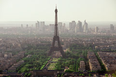 Eiffel Tower biew from Montparnasse tower Stock Image