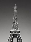 Eiffel Tower Black & White Stock Image