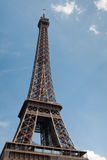 Eiffel tower. Blue sky Royalty Free Stock Photos