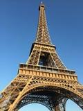 Eiffel Tower. And Blue sky Stock Photos