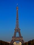 Eiffel Tower blurred #1 Stock Images