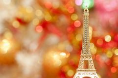 Eiffel tower and bokeh background Stock Photos