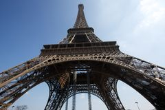 Eiffel tower-1 Royalty Free Stock Photos