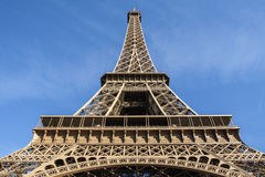 Eiffel Tower bottom view. Stock Images