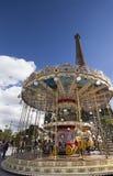 Carousel in Paris Stock Photos
