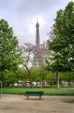 Eiffel Tower at Champ de Mars Park, Paris Royalty Free Stock Photos