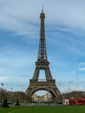 The Eiffel Tower, Champs de Mars, Paris, France Royalty Free Stock Images