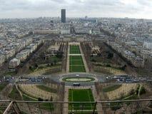 The Eiffel Tower, Champs de Mars, Paris, France Stock Image