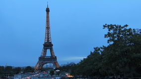 Eiffel Tower in the City of Paris France Royalty Free Stock Photos
