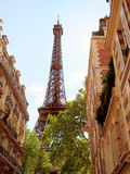 Eiffel Tower from the city, Paris Royalty Free Stock Images