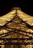 Eiffel Tower Close Up stock image