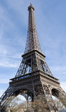 The Eiffel Tower, Paris, France Royalty Free Stock Images