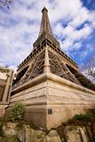 Eiffel Tower corner Royalty Free Stock Images