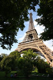 Eiffel tower during day Royalty Free Stock Photo