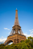 Eiffel Tower during the day. Paris, France Royalty Free Stock Photography