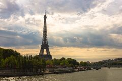 Eiffel Tower during Daytime Stock Photos