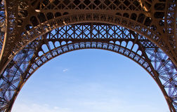 Eiffel Tower detail Stock Photo