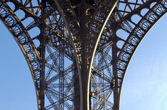 Eiffel tower detail Stock Images