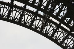 Eiffel Tower Detail Royalty Free Stock Image