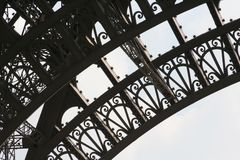 Eiffel Tower Detail Stock Image
