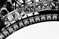 Eiffel Tower detail Royalty Free Stock Images