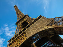Eiffel tower in detail Stock Photo