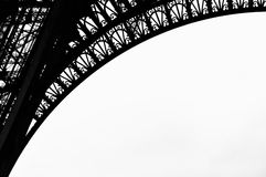 Eiffel Tower detail Royalty Free Stock Photos