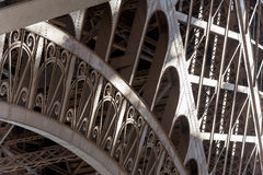 Free Eiffel Tower Detail Showing Classic Pattern Royalty Free Stock Photography - 23407247