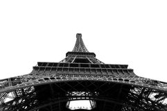 Eiffel Tower , different angle Royalty Free Stock Photos